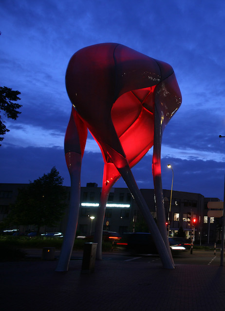 ... Commissioned By The City Of Doetinchem In The Netherlands, That Maps  The Emotions Of The Inhabitants Of Doetinchem. D Tower Measures HAPPINESS,  LOVE, ...